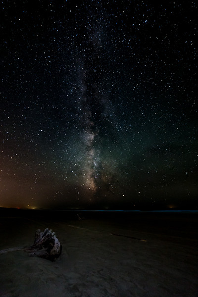 Milky Way from South Jetty Beach