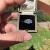 2.50ctw Emerald Cut Diamond 3-stone Ring, GIA E VS1 26