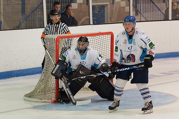 Solway Sharks V's Coventry Blaze NIHL 22-09-12