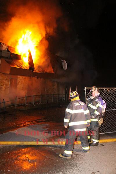 Saugus, MA - Working Fire, 60 Salem Turnpike, 10-8-09
