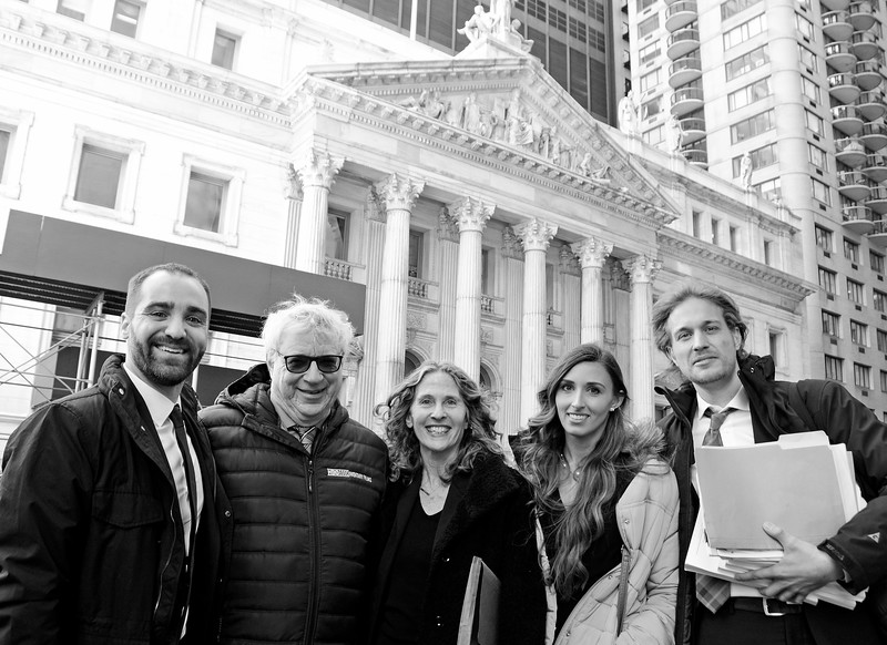 The Nonhuman Rights Project trial to demand justice and the immediate release of two captive chimpanzees, Tommy and Kiko at The Appellate Division Courthouse of New York State located at 27 Madison Avenue on March 16, 2017 in Manhattan, New York.