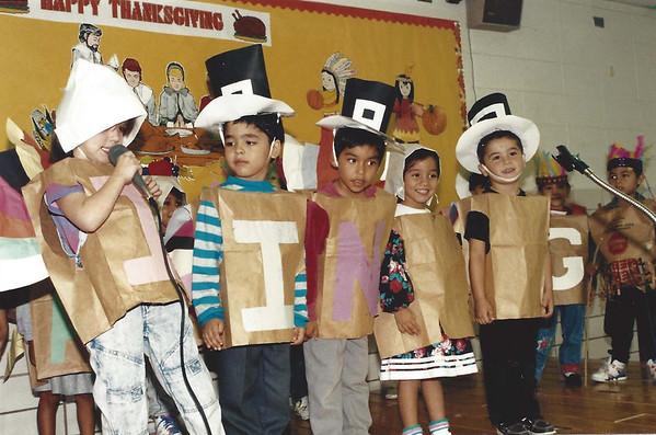 1991 Lamar Elementary Thanksgiving