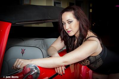 Hot Rod Pinup - Alexandra