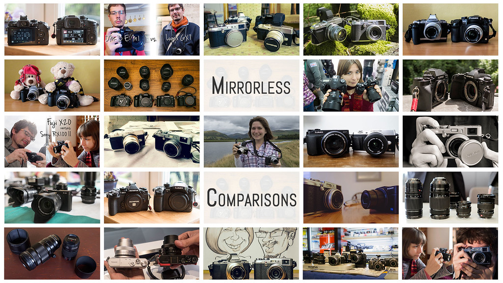 mirrorless camera comparisons