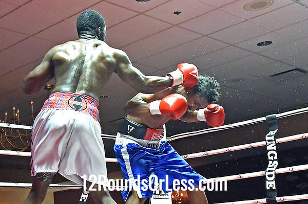 Bout 5 JeanPierre Augustin, Boston, MA -vs- Martez Williamson, Akron, OH, 190 lbs