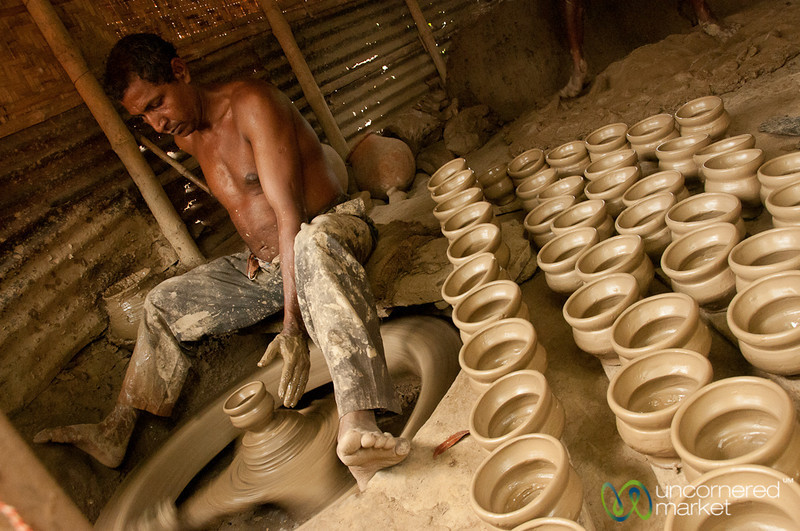 Pottery Village in Najiirpur, Bangladesh