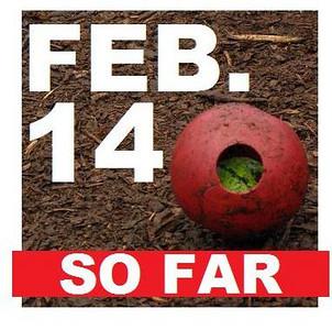 14 FEBRUARY (so far)