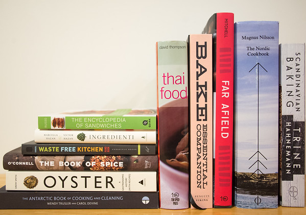this year's selection of books for cooks