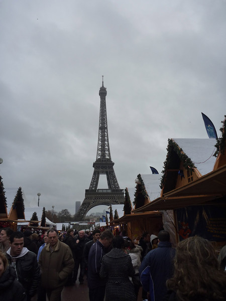 Back on land, view from the Trocadero