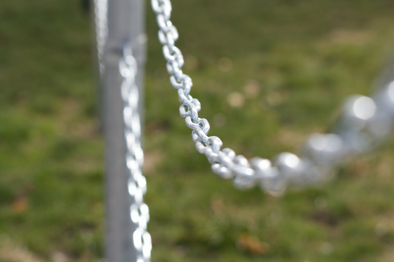 Close up on chain