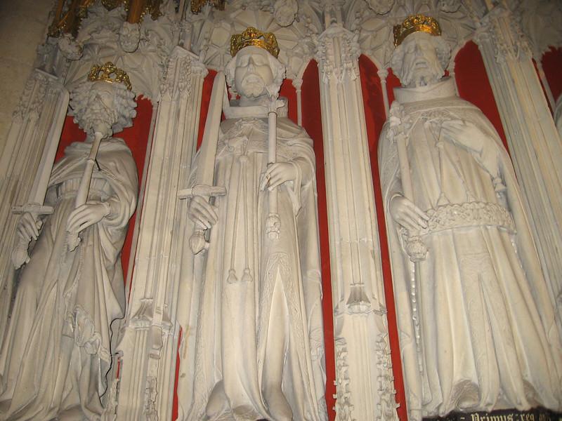 Choir Screen, York Minster (William I, William II, Henry I)