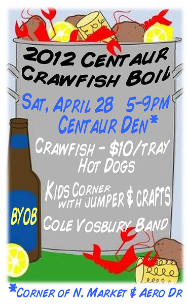 2012 - 04-28 Krewe of Centaur Crawfish Boil