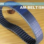 SKU: AM-BELT/5M/310, 310-5M Trapezoidal-Tooth Timing Belt, Closed-loop 5M Pitch Elastomeric Timing Belt 310mm Length