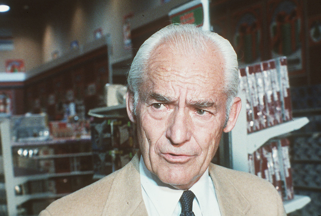 . Sam Walton, wealthy entrepreneur from Bentonville, Arkansas, and founder of Wal-Mart, is shown in 1985. Walton is an Eagle Scout (AP Photo)