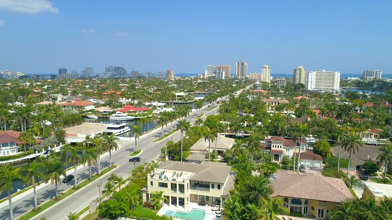 Las Olas boulevard Fort Lauderdale FL USA