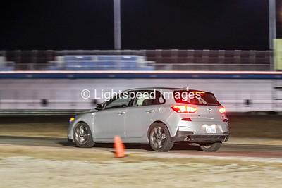 Silver Hyundai Elantra GT