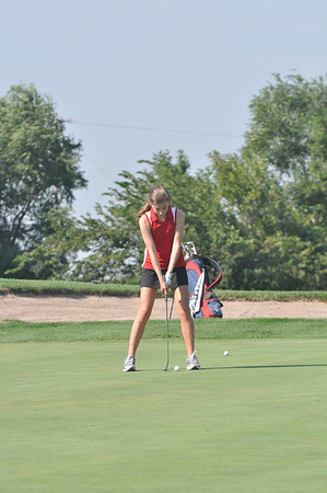 Girls Golf at Waverly Invite, 8-31-2011