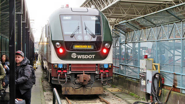 Amtrak Cascades and Vancouver, BC
