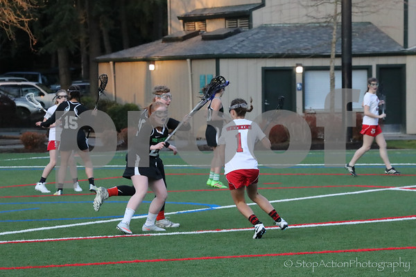 2017-03-29 ISD JV Girls Lacrosse vs Snohomish