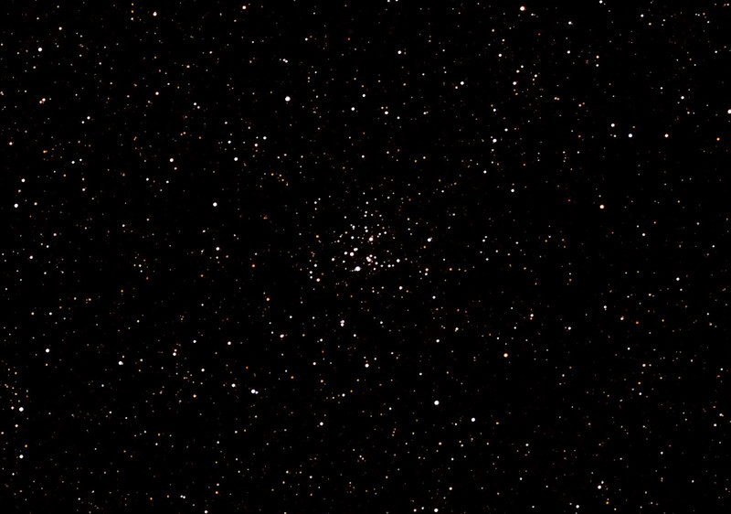 Messier M26 - NGC6694 - Open Cluster in Scutum - 22/6/2012 (Processed cropped stack)   DeepSkyStacker 3.3.2 Stacked 90% of 10 Images ISO 800 120 Sec, 32 DARK, 0 BIAS, 33 FLATS, Post-processed by Photoshop CS5   Telescope - Apogee OrthoStar LOMO 80/480 with Hotech SCA Field Flattener, Hutech IDAS LPS-P2 filter, Canon 400D DSLR, Ambient 4C. Mount - Skywatcher NEQ6 Pro. Guidescope - Orion ShortTube 80 with Star Shoot Auto Guider.