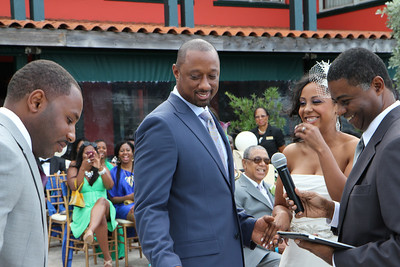 Wedding Ceremony - Brianne and Norman 10-13-12