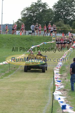 Women's 0.5 Mile mark - 2014 O.U. Golden Grizzly Open College Invite