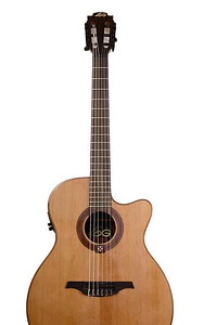 Lag OC114ACE Nylon String Guitar