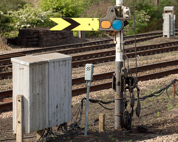 Distant signal in Barnetby.