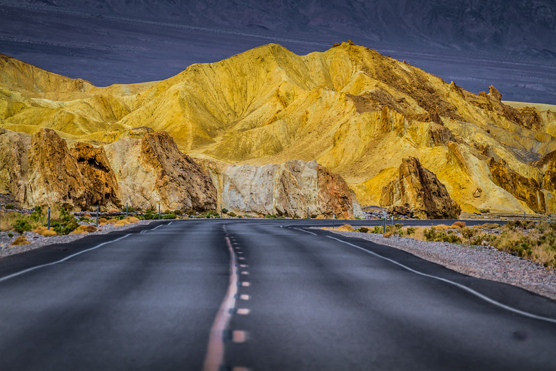 Just inside the main entrance to Death Valley and greeted with this view - completely not what I expected.