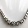 6.00ctw Round Brilliant Diamond Riviera Style Necklace 8