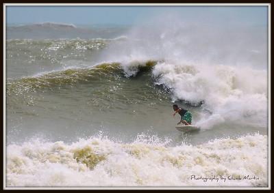 Hurricane Irene Surf