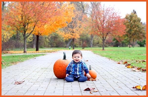 Dominic ~ fall photos