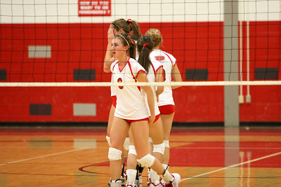Girls Varsity Volleyball - 2007-2008 - 10/9/2007 Grant