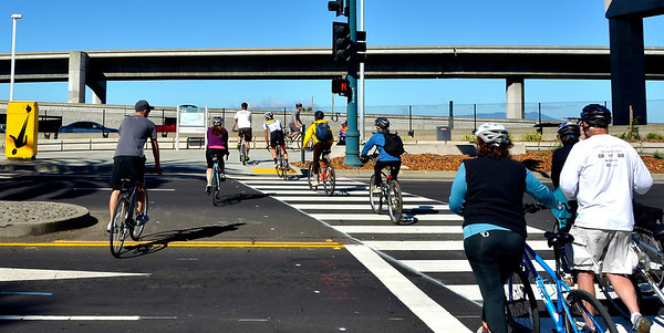 Seyed Piece, Bay Bridge Bike Trail