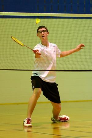 SMS Senior Badminton City Championships - Wednesday April 10, 2013