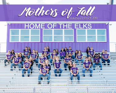 Elkins Football Seniors & Moms