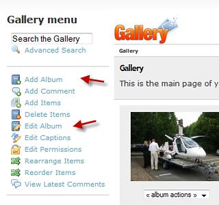 Using Gallery2