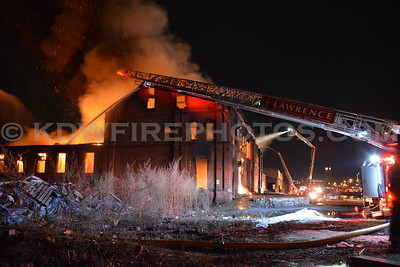 Lawrence, Ma 5th Alarm - 9 S Canal St - 1/13/14