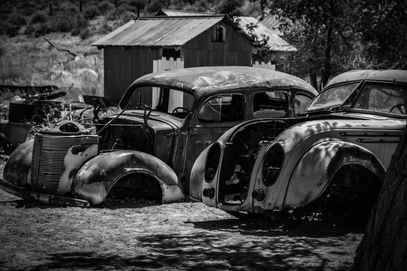 Two Junk Cars