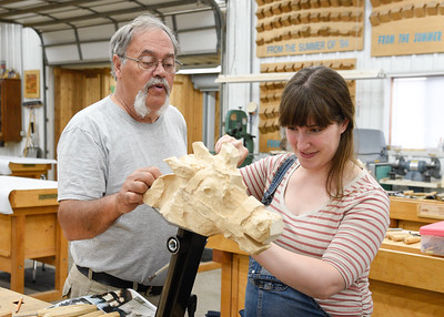 Learn How to Carve a Carousel Horse Head and Neck with Joe Leonard