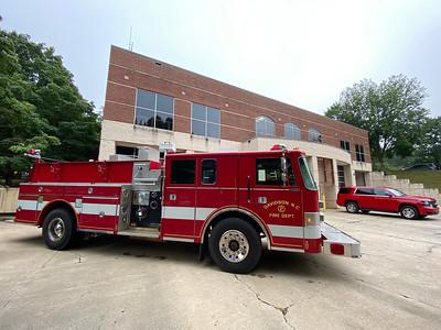 Davidson Fire Truck - Fire Engine #2