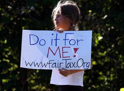 Fair Tax Ralley, Atlanta GA May 24, '06