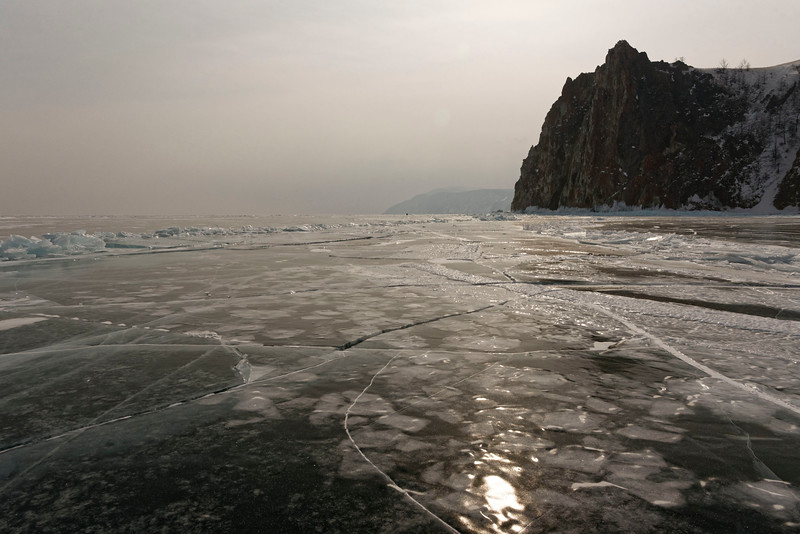 Cape Khoboy, Olchon's northernmost end