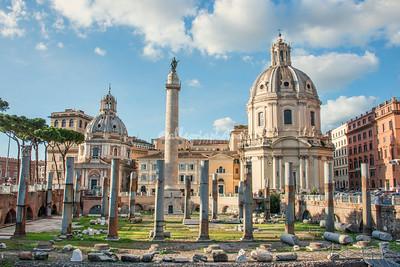 Hadrian's Market and Forum