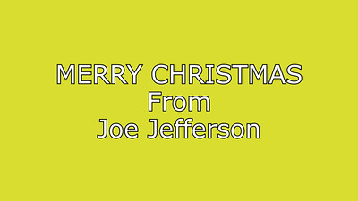 Joe Jefferson Greetings