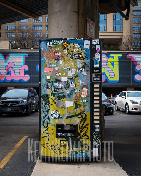 Vending Machine Sticker Wars