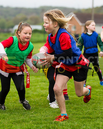 Stradey Sospans WRU Girls Cluster Launch 9th May 2018