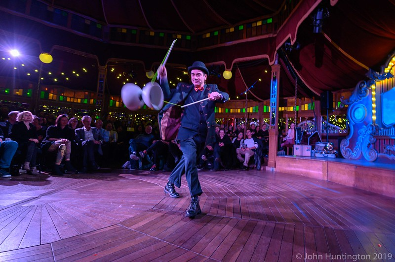 Bindlestiff Cirkus Best of the Open Stage at The Mirror Room at Big Apple Circus (tm), January 22, 2019