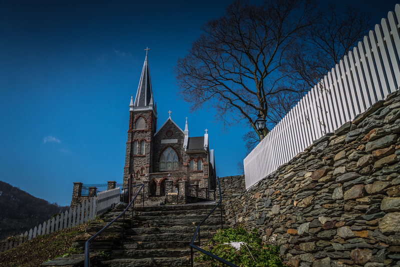 Harper's Ferry WV - St Peter's Catholic Church.
