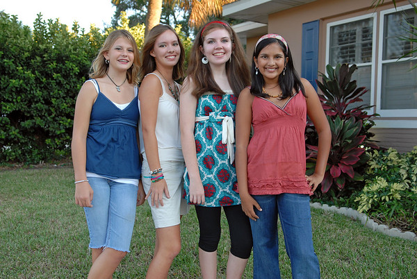 Mackenzie's FIRST 8th Grade Dance - September 28, 2007
